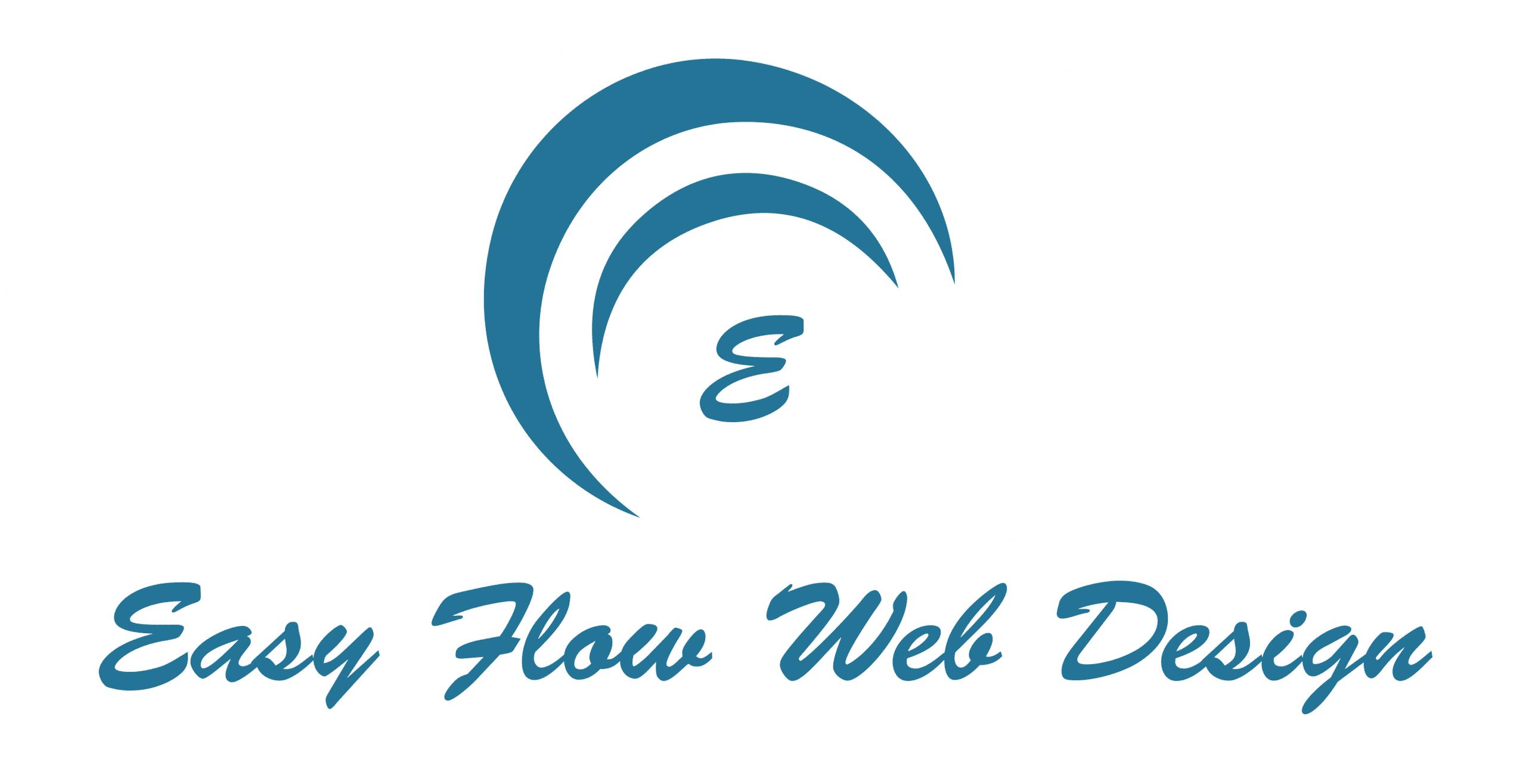 easy flow web design logo